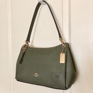 Coach - Small Mia Shoulder Bag - Military Green